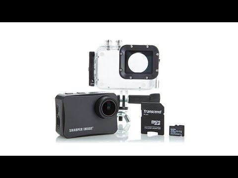 Sharper Image 4K Wireless Action Camera w/Accessories
