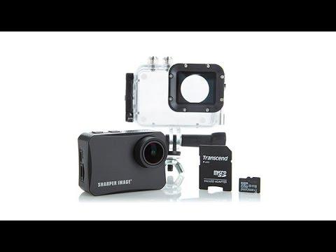 Sharper Image 4K Wireless Action Camera w/Accessories