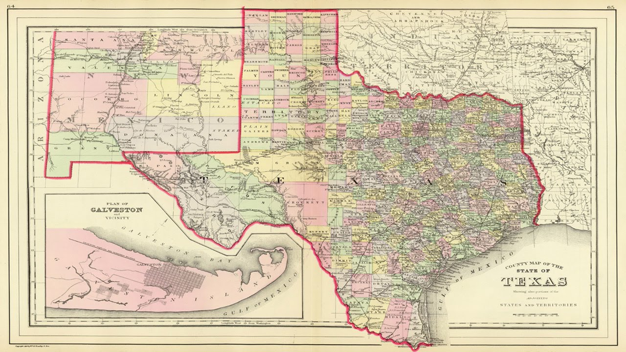 Map Of Texas Counties YouTube - Maps of texas counties