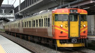 JR信越本線 今井駅 115系「台鉄色」