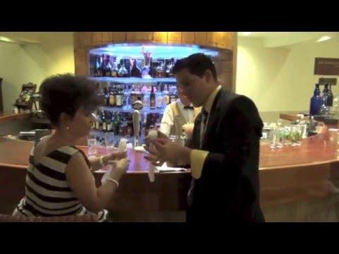 Melia Las Americas, Magic Show at the Lobby Bar