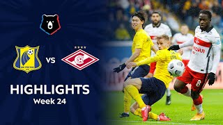 Highlights FC Rostov vs Spartak (2-3) | RPL 2020/21