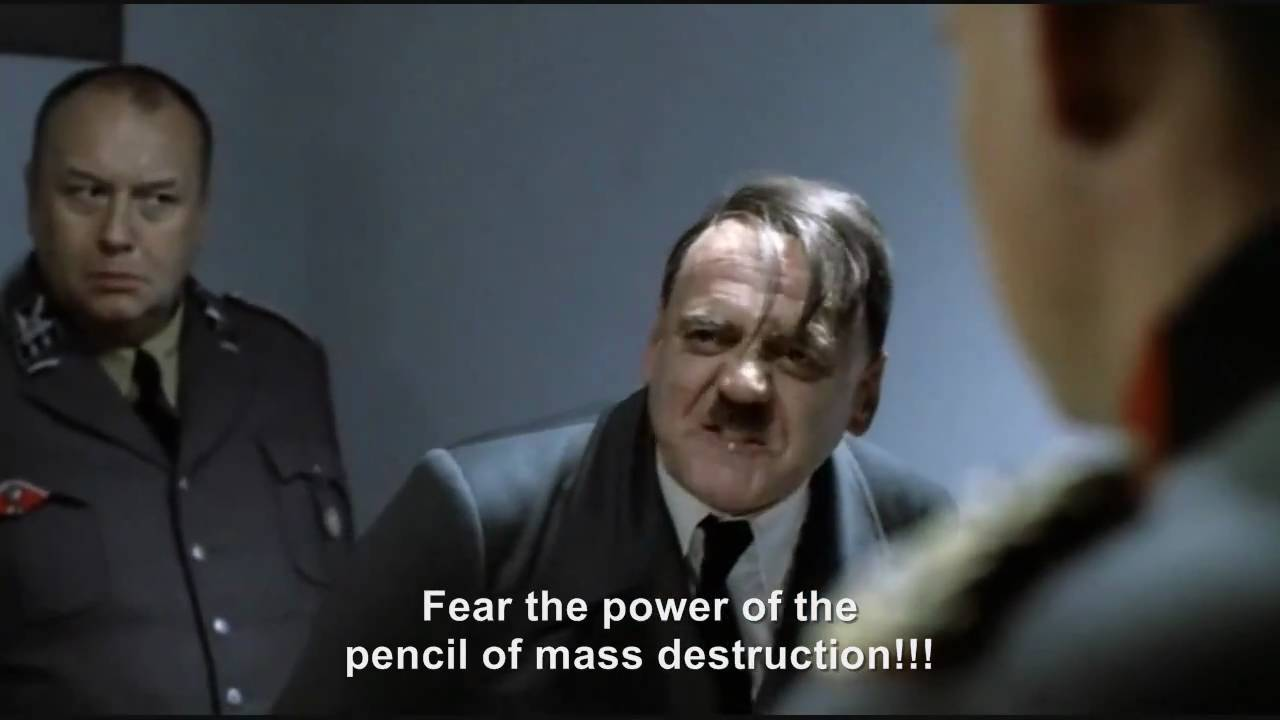 Hitler's pencil of mass destruction II