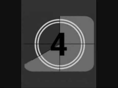 film reel countdown with sound youtube
