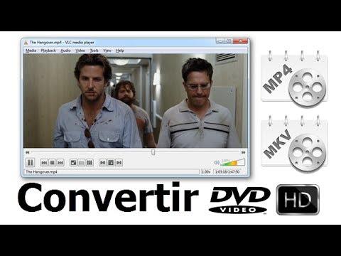 5 Pasos para Convertir DVD a MP4 / H.264 HD (Full HD )
