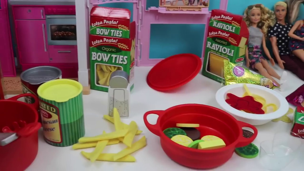 Melissa And Doug Play Food Toys Cooking With Toy Pasta Youtube