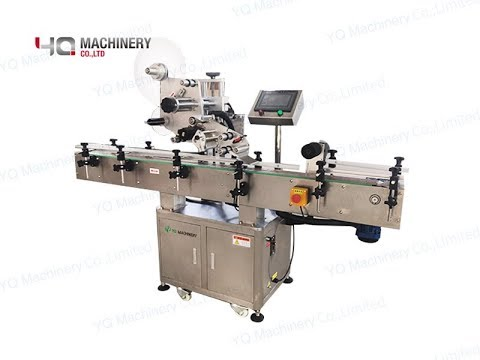 Plastic Ampolue Labeling Machine With Date Coder|vial Flat Labeller