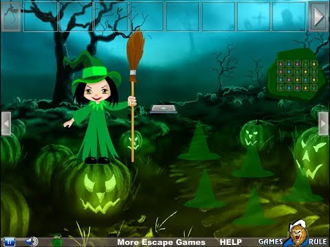 Halloween Witch Candy Bowl Escape Walkthrough [Games2Rule]