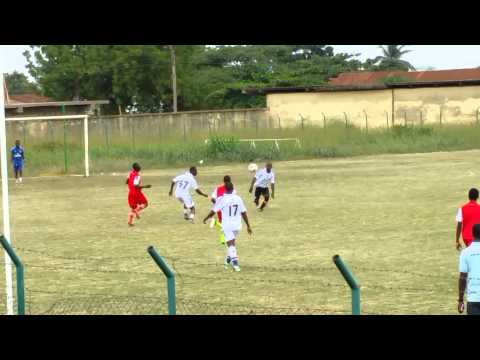 Berekum Ghana City Leagues Futbol Match