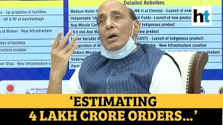 'Defence Ministry estimates 4 lakh crore orders in 5-7 years': Rajnath Singh