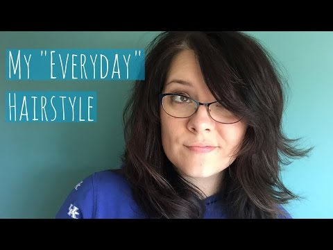 """My """"Everyday"""" Hairstyle Tutorial thumbnail"""