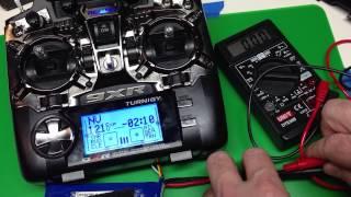 Turnigy 9XR: Radio Setup