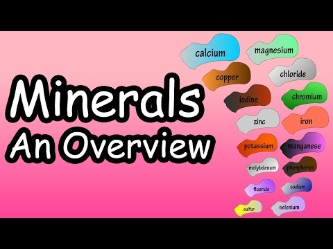 Minerals - What Are Minerals - What Do Minerals Do - What Are The Essential Minerals