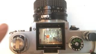 espejo en cámaras réflex y pentaprisma
