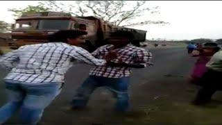 Group fight in Khammam District - NTV