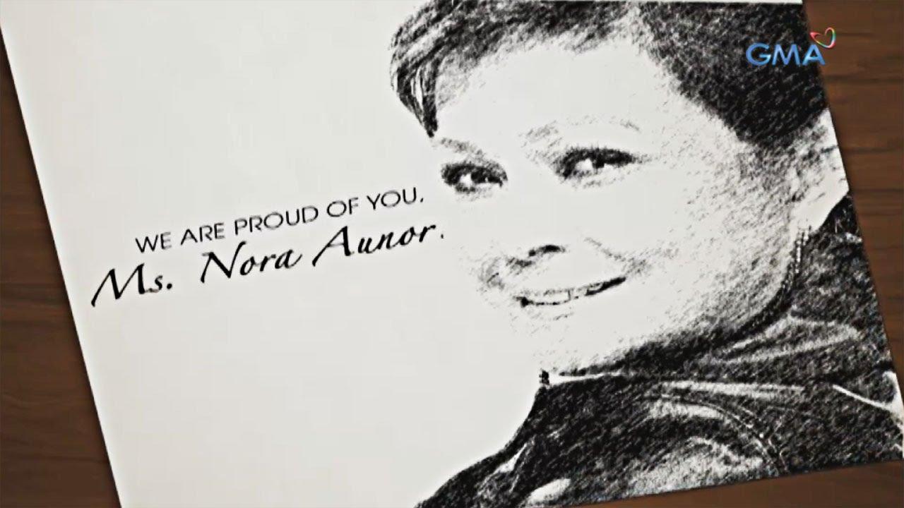 Congratulations, Ms. Nora Aunor!