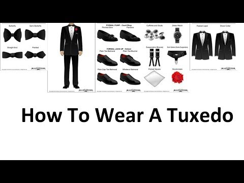 How To Wear A Tuxedo | A Man's Guide To Wearing Black Tie | Tuxedos For Men Video