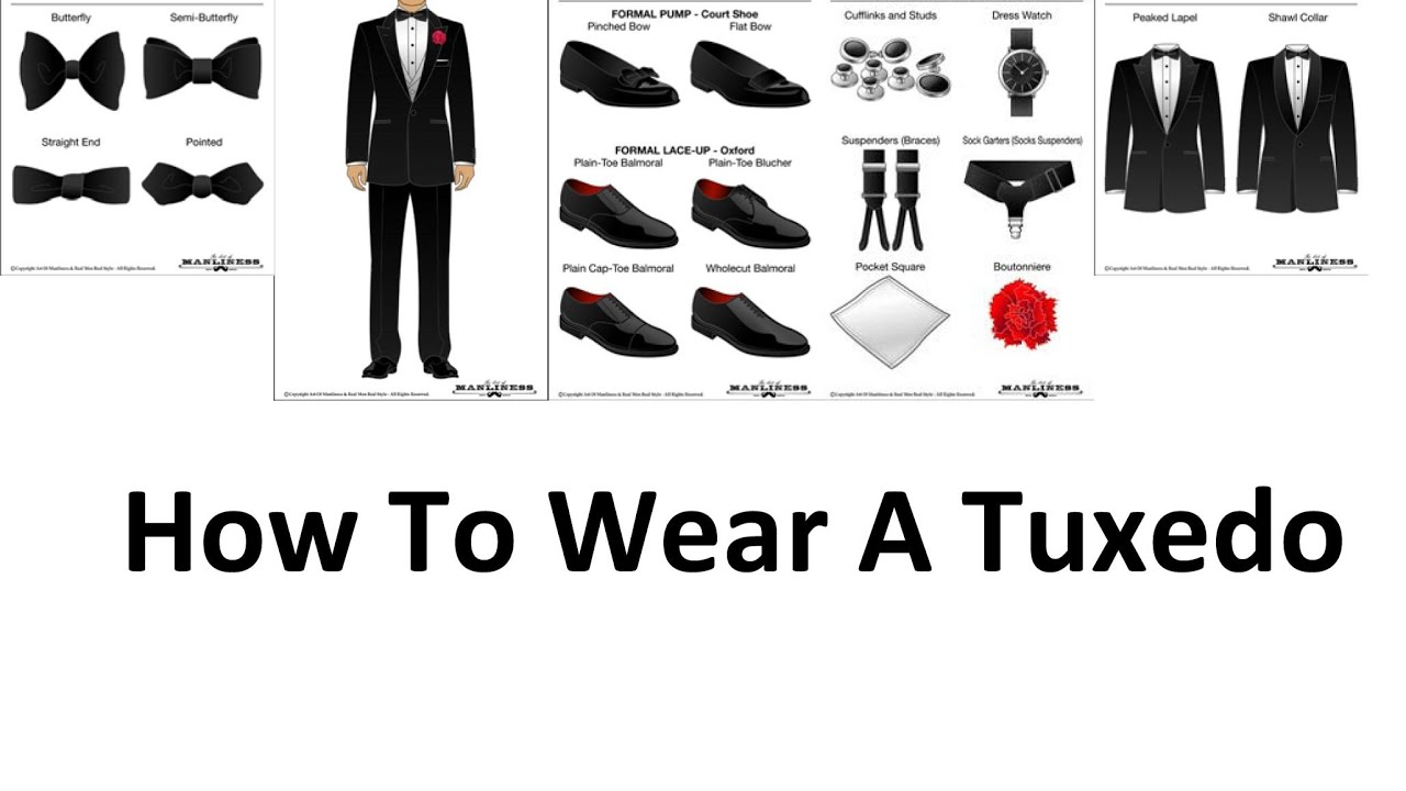 How To Wear A Tuxedo | A Man\'s Guide To Wearing Black Tie ...