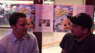 Kostja Ullmann in SAM O COOL Interview Meet and Greet auf dem ITFS 2015 Stuttgart