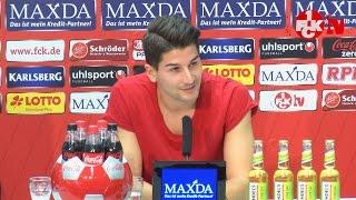 Pressekonferenz vor dem Auswärtsspiel in Karlsruhe