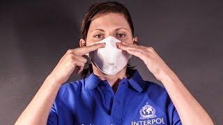 Procédure de port et de retrait d'un masque et de gants de protection individuelle