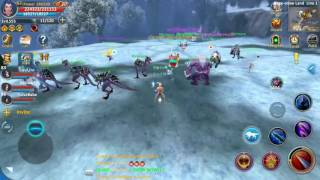 Forsaken World Mobile by fedeen | War INcrease vs Mighty at Snow World Boss