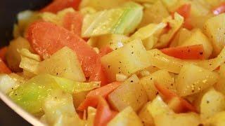 Cabbage, Carrots Potatoes
