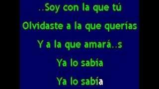 Paty Cantu - Clavo Que Saca Otro Clavo (Karaoke)