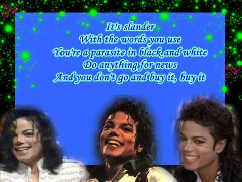 Tabloid Junkie By Michael Jackson (Lyrics)