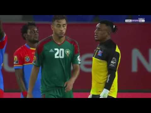 CAN 2017   RD Congo vs Maroc 1 0 AFCON 2017