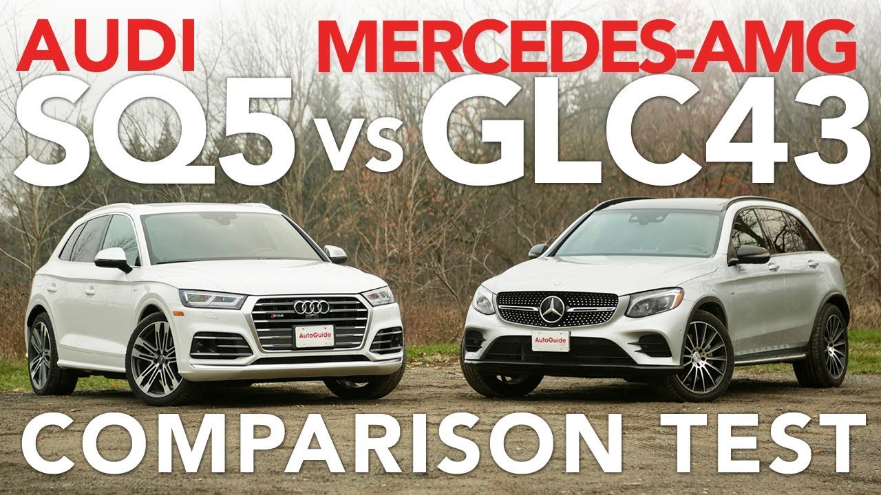 2018 Audi SQ5 vs Mercedes-AMG GLC 43 Comparison Test - Dauer: 11 Minuten