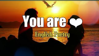 """Gambar cover """"You are"""" 