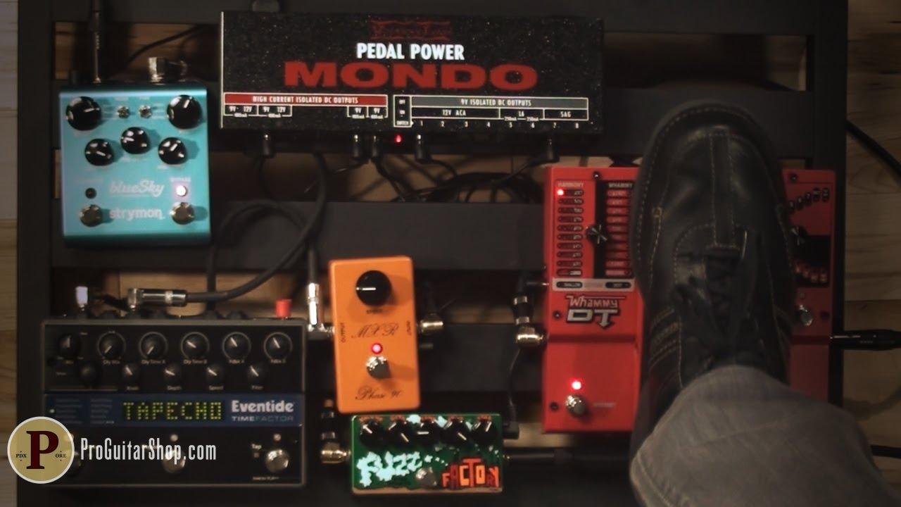 voodoo lab pedal power mondo youtube. Black Bedroom Furniture Sets. Home Design Ideas