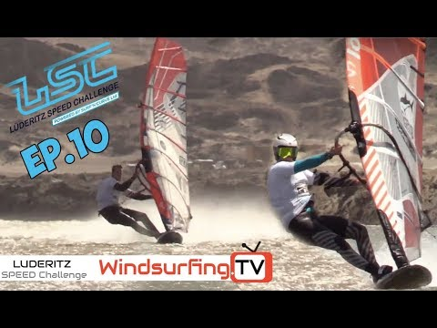 Ep.10 - NEW 40 & 50 knot Clubbers – Luderitz Speed Challenge