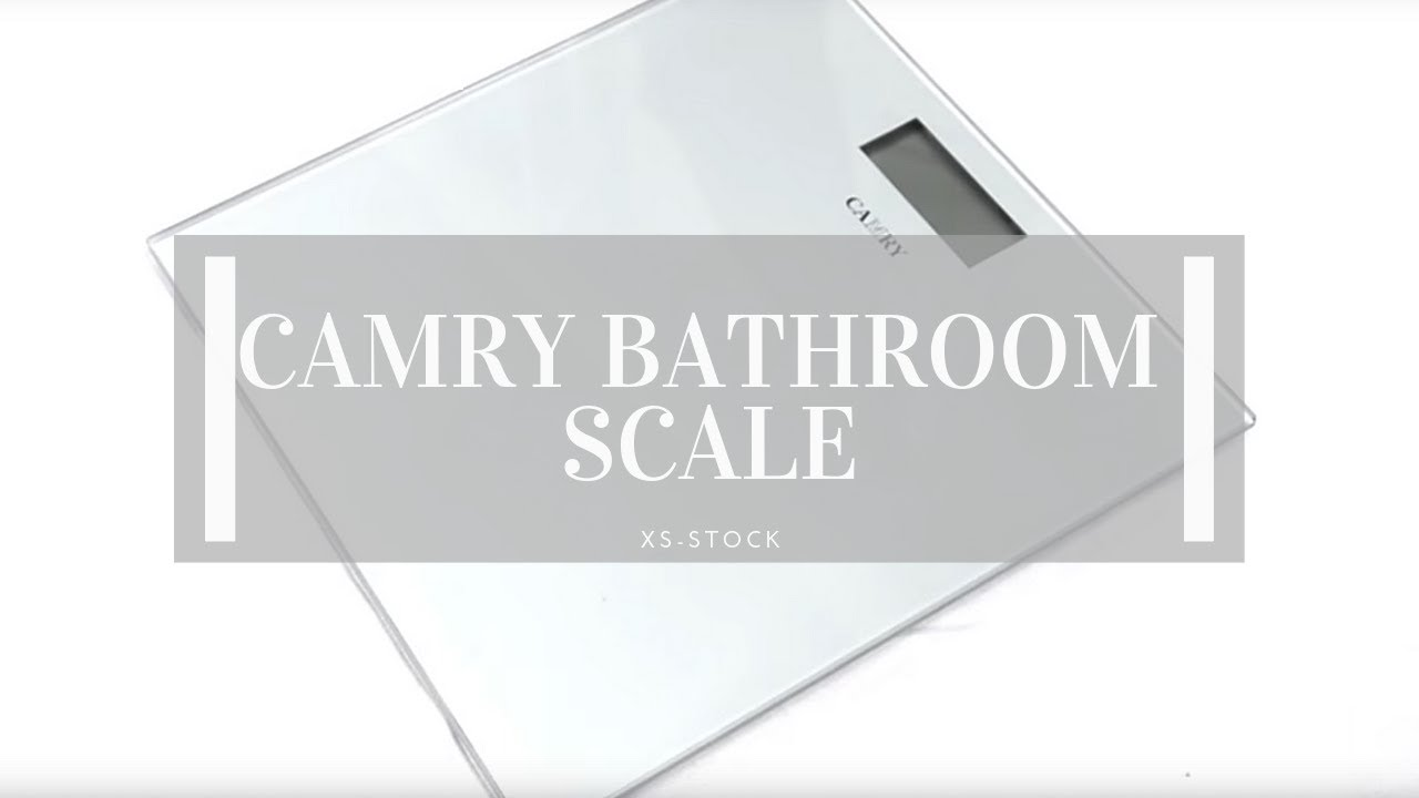 Black Bathroom Scales Camry Digital Bathroom Scales Product Overview Youtube