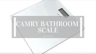 Camry Digital Bathroom Scales Product Overview