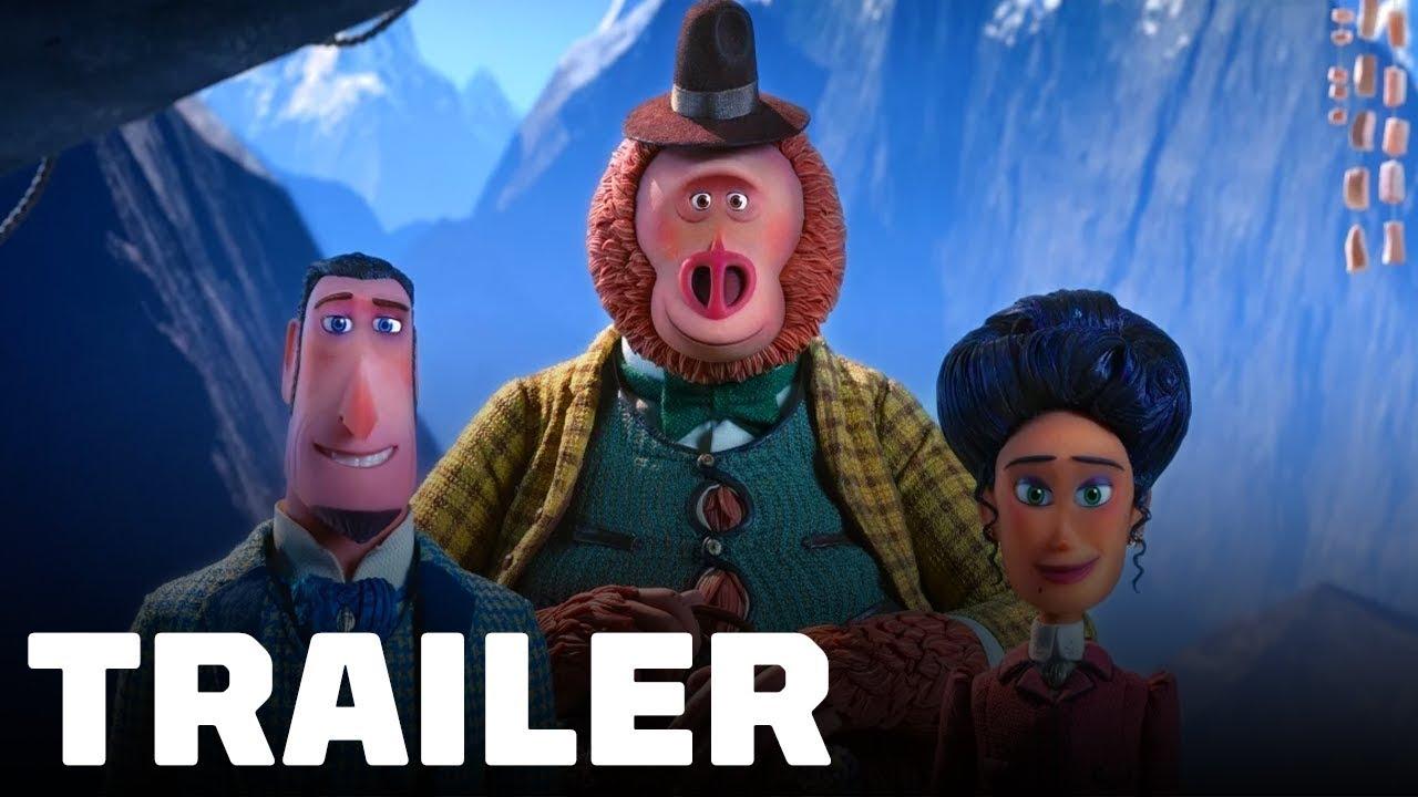 Download Missing Link Trailer #1 (2019) Hugh Jackman, Zoe Saldana, Zach Galifianakis.