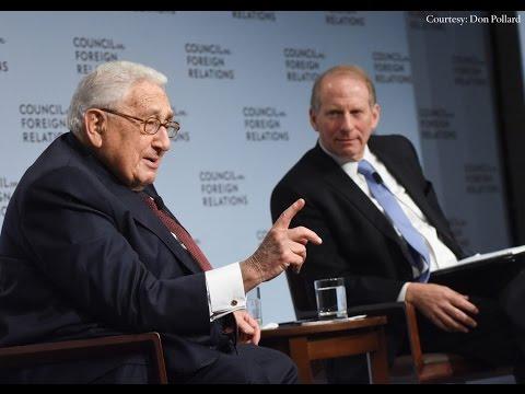 Henry Kissinger Looks