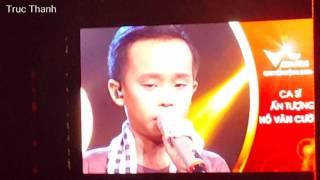 Hồ Văn Cường đoạt giải Ca sĩ Ấn Tượng VTV Awards 7/9/2016