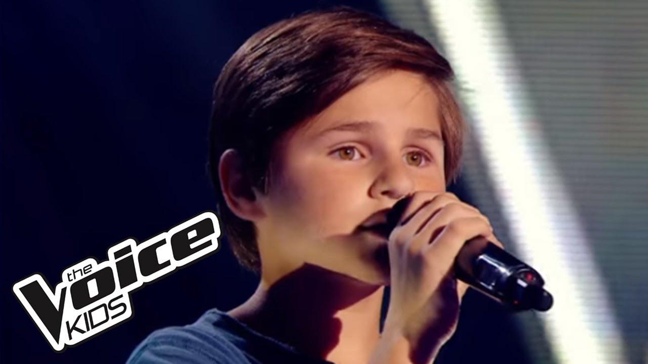 Qui A Le Droit Patrick Bruel Martin The Voice Kids 2015 Blind Audition Youtube