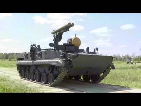 Модернизированный ПТРК «Хризантема-С»