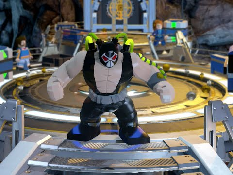 LEGO BATMAN 3 - BANE FREE ROAM GAMEPLAY - YouTube