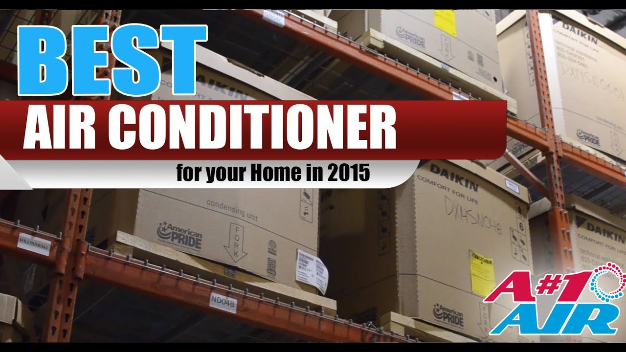 Best Air Conditioner For Your Home 2016 Daikin DX20VC and Lennox