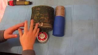 Кухня на основе армейского котелка, функции кухонного набора набора