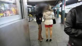 Prostitutes on the New York Subway! - NYC Day 1