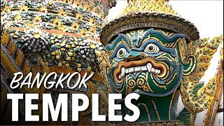 We were on a mission to visit the 3 best temples in Bangkok Thailan...
