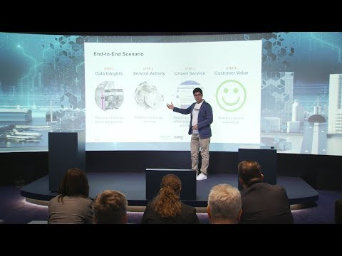 Siemens MindSphere & Coresystems – creating a real time experience