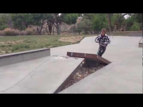 Morongo Valley California skatepark (The Slab)