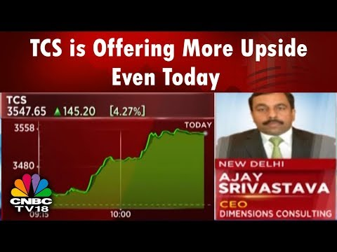 TCS is Offering More Upside Even Today: Dimensions Corp | CNBC TV18