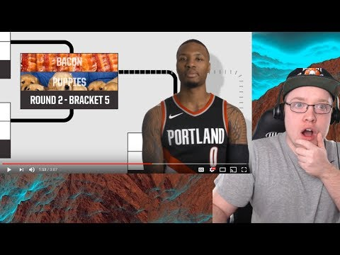 damian-lillard-is-overrated-after-this!-puppies-or-bacon?-ultimate-bracket-challenge